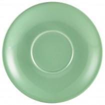 """{Genware Saucer Green 16cm/6.3\""""}"""