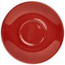 "{Genware Saucer Red 12cm/4.7\""}"