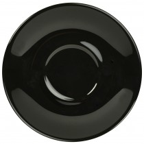 "{Genware Saucer Black 12cm/4.7\""}"