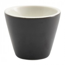 "Genware Conical Bowl Matt Finish Black 6cm/2.25"" Diameter"