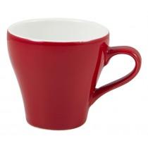 Genware Tulip Cup Red 9cl-3oz