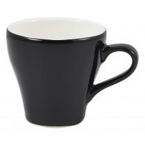 Genware Tulip Cup Black 9cl-3oz