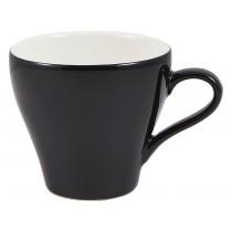Genware Tulip Cup Black 18cl-6.25oz