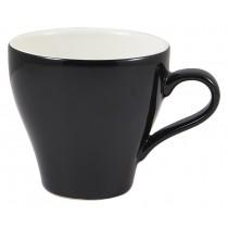 Genware Tulip Cup Black 28cl-10oz