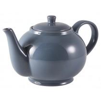Genware Teapot Grey 85cl-30oz