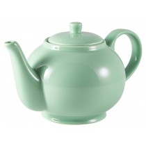 Genware Teapot Green 85cl-30oz
