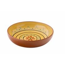 "Utopia Estrella Fiesta Yellow Bowl 22cm-8.5"""
