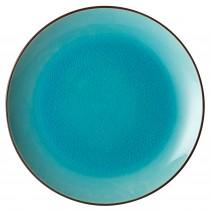 "Utopia Soho Aqua Coupe Plate 25cm/10"""