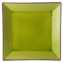 "Utopia Soho Verdi Square Plate 25cm/10"""