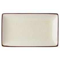"Utopia Soho Stone Rectangular Plate 21x14cm/8.5x5.5"""