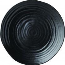 "Utopia Tribeca Ebony Plate 28cm-11"""