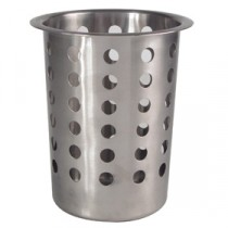Berties Stainless Steel Perforated Cutlery Holder, fits CUXX006 6 Slot Dispenser