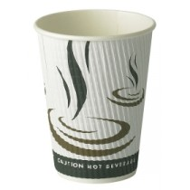 Berties Weave Double Wall Hot Cup 34cl/12oz