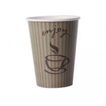 "Berties ""Enjoy"" Paper Hot Cup 34cl/12oz"