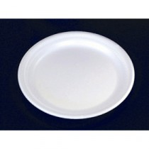 Berties White EPS Foam Plate 17.5cm