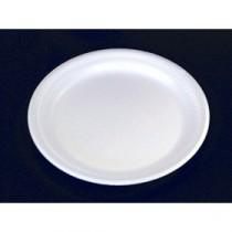 Berties White EPS Foam Plate 17.5cm