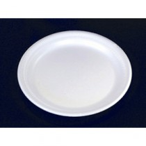 Berties White EPS Foam Plate 22.5cm