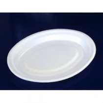 Berties EPS Foam Oval Platter 26x20cm