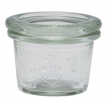 Weck Mini Jar & Lid 3.5cl/1.25oz