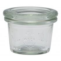 Weck Mini Jar & Lid 3.5cl/1.25oz