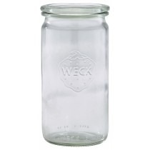 Weck Cylindrical Jar & Lid 34cl/12oz