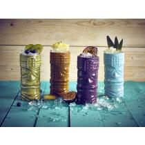 {Berties Purple Tiki Mug 40cl/14oz}