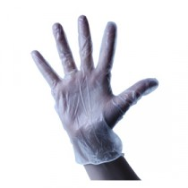 Berties Vinyl Gloves Powdered Clear Large
