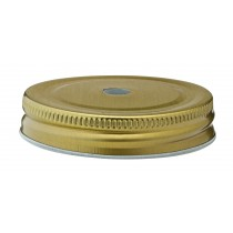 Utopia Gold Lid with Straw Hole