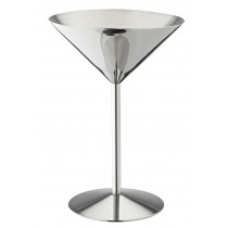 Utopia Stainless Steel Martini 8.5oz/24cl