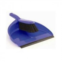 Berties Dustpan & Brush Blue