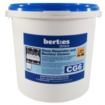 Berties CG6 Glass Renovator & Machine Cleaner