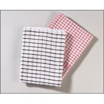 Berties Terry Check Tea Towel 710x450mm