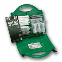 Berties First Aid Kit HSE 10 Person Green