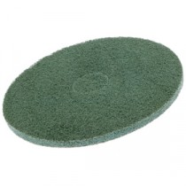 Berties Floor Pad Medium Grade Stripping Green 15""