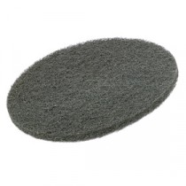 "Berties Floor Pad Coarse Grade Stripping Black 15"""
