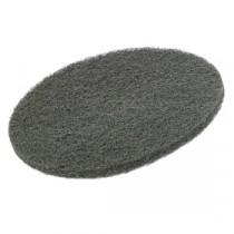"Berties Floor Pad Coarse Grade Stripping Black 17"""