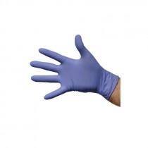 Berties Latex Gloves Powdered Blue Medium