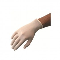 Berties Latex Gloves Powder Free Neutral Medium