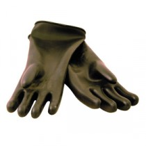 Berties Gauntlet Heavy Duty Gloves Black Large