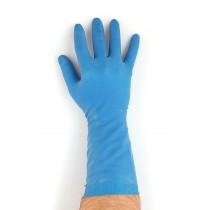 Berties Rubber Multi Purpose Gloves Blue Large