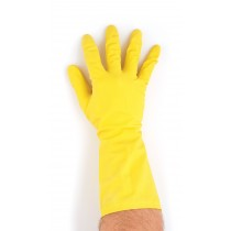 Berties Rubber Multi Purpose Gloves Yellow Large