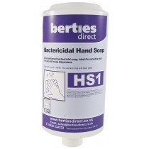 Berties HS1 Bactericidal Hand Soap Cartridge
