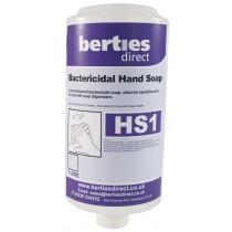 Berties HS1 Bactericidal Hand Soap Cartridge