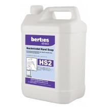 Berties HS2 Bactericidal Hand Soap Bulk Fill