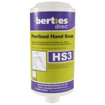 Berties HS3 Pearlised Hand Soap Cartridge