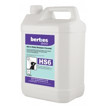 Berties HS6 Coconut Hand Hair & Body Shampoo