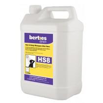 Berties HS8 Aloe Vera Hand Hair & Body Shampoo