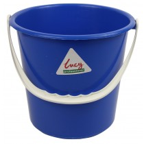 Berties Round Bucket Blue 9Ltr