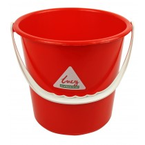 Berties Round Bucket Red 9Ltr