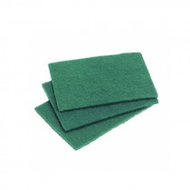 Berties Caterers Scouring Pads Green 225x150mm